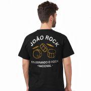 Camiseta Masculina João Rock Celebrando o Rock Nacional