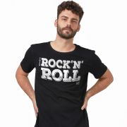 Camiseta Masculina João Rock Rock N' Roll Type