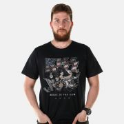 Camiseta Masculina Kiss Made in USA