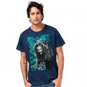 Camiseta Masculina Liga da Justiça Aquaman