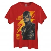 Camiseta Masculina Liga da Justiça The Flash