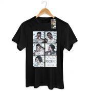 Camiseta Masculina NXZero Nao Deixe a Mare Te Levar Preta