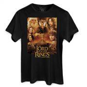 Camiseta Masculina O Senhor dos Anéis Logo
