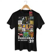 Camiseta Masculina Paralamas do Sucesso 30 Anos Modelo 1