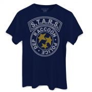 Camiseta Masculina Resident Evil S.T.A.R.S