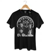 Camiseta Masculina The Beatles Sgt Pepper´s P&B