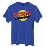 Camiseta Masculina The Big Bang Theory Bazinga!