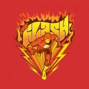 Camiseta Masculina The Flash Fire