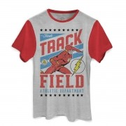 Camiseta Masculina The Flash Track Field
