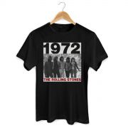 Camiseta Masculina The Rolling Stones American Tour 1972