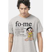 Camiseta Masculina Turma da Mônica Magali Fome