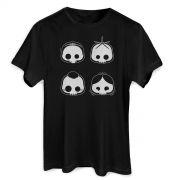 Camiseta Masculina Turma da Mônica Skull