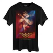 Camiseta Masculina Wonder Woman Power