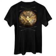 Camiseta Masculina Wonder Woman Shield