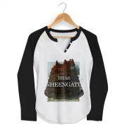 Camiseta Raglan Feminina Titãs Nheengatu Capa
