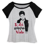 Camiseta Raglan Feminina Zé Felipe Te Dei Minha Vida