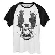 Camiseta Raglan Masculina Halo UNCS