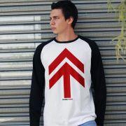 Camiseta Manga Longa Masculina NXZero Norte