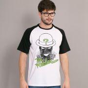 Camiseta Raglan Masculina The Riddler