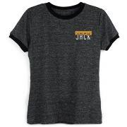 Camiseta Ringer Feminina João Rock Fortalecendo o Rock