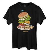 Camiseta Unissex Gudetama Sandwich