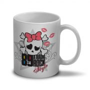 Caneca 89 FM A Rádio Rock Skull Girl