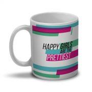 Caneca QeB Happy Girls