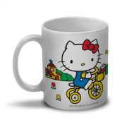 Caneca Hello Kitty Tricycle