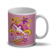 Caneca Power Girls Wonder Woman In Action