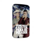 Capa para Motorola Moto G 1 Pedro Paulo & Alex Fama de Pegador