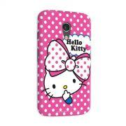 Capa para Motorola Moto G 2 Hello Kitty Big Ribbon