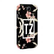 Capa para Samsung Galaxy S4 MC Tati Zaqui Flowers