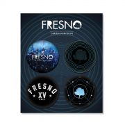 Cartela de Buttons Fresno XV Anos