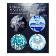 Cartela de Buttons Luan Santana #EVME