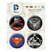 Cartela de Buttons Superman