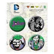 Cartela de Buttons The Joker