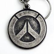 Chaveiro de Metal Overwatch Logo