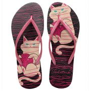 Chinelo Feminino TodaTeen Cat