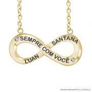 Colar Ouro Luan Santana Sempre Com Você