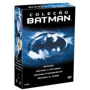 Coleção Batman 4DVDs