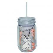 Copo Jarra Acrílico Tom e Jerry
