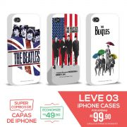Kit Com 3 Capas de iPhone 4/4S - Flag