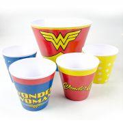 Kit de Pipoca  Wonder Woman Clothes