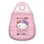 Lixeira para Carro Neoprene Hello Kitty Purple Lace