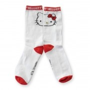 Meia Cano Alto Hello Kitty Sporty Kitty