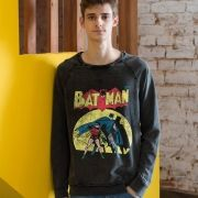 Moletinho Marmorizado Batman e Robin