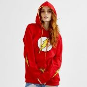 Moletom Feminino The Flash Logo