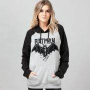 Moletom Raglan Batman Bat Anatomy