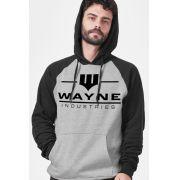 Moletom Raglan Wayne Industries