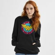 Moletom Wonder Woman Logo College